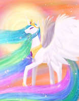 Princess Celestia by Astropteryx