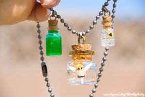 Legend of Zelda Inspired Wind Waker Necklace by IvrinielsArtNCosplay