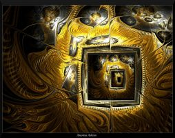 Framed with Gold-Manipulation by AmorinaAshton