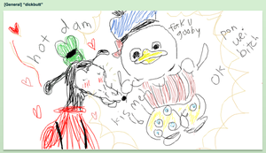 Gooby x Donald AU by nihaomary