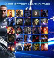 Mass Effect Avatar Pack by MrAlexBad