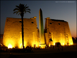 Temple of Luxor by SophieReicher