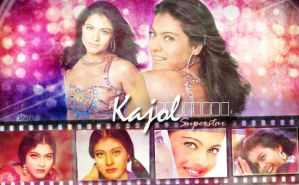 Super Star Kajol by scarletartista