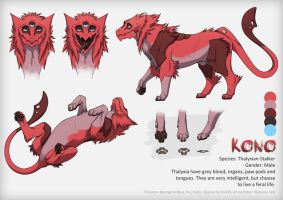Kono Refsheet [Commission] by FlyQueen