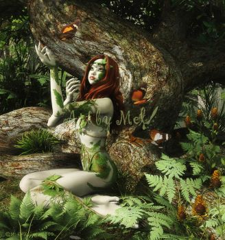 The Dryad's Daughter by Art-By-Mel-DA