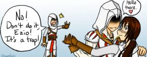 Ezio's Womanizing by Chuushiri