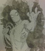Spiderman THWIPP sketch by RyanOttley