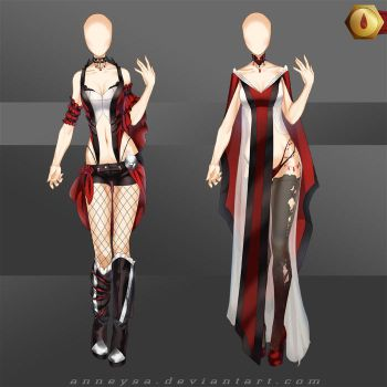 [Closed]Adoptable Outfit (Vamp 1_2) by Anneysa