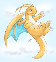Dragonite by nepryne