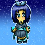 The blue chibi by Pokechan13