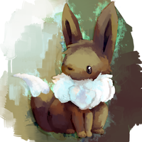 Cold Eevee by kiwisco