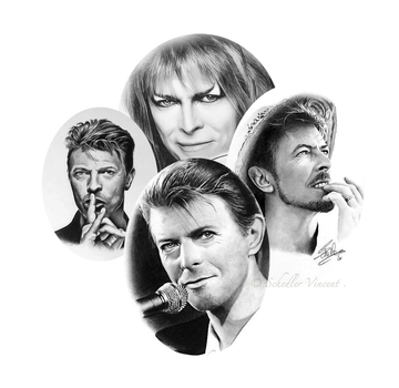 David Bowie works - Compilation . by Cap007