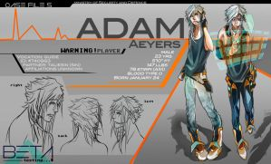 BETA:: Adam Character Profile by renkaz