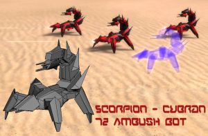 Scorpion - Cybran Ambush Bot by MikeTehFox