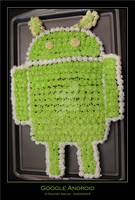 Cake: Google Android by simonsaz3