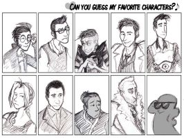 Favorite Character Meme by DoubtingSalmon