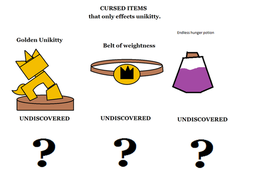 Ancient Cursed Items of unikittys ancestry by UselessAccount69
