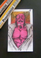 Hellboy Sketch Card Vol.02 by rehAlone