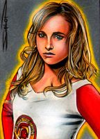 Heroes Claire Sketch Card 2 by RandySiplon