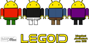Lego Android by BlaydeXi