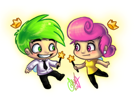 Cosmo and Wanda by entadeath