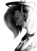 Mercy (Overwatch) by gwiazdala