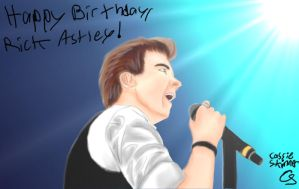 Happy Birthday, Rick Astley! by GZLTriforce128