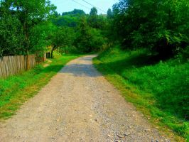 old road by KeepItMetall