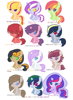 MLP Ship Adopts 2 by CaptainPasta