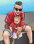 Craig and Child by AliiStarr