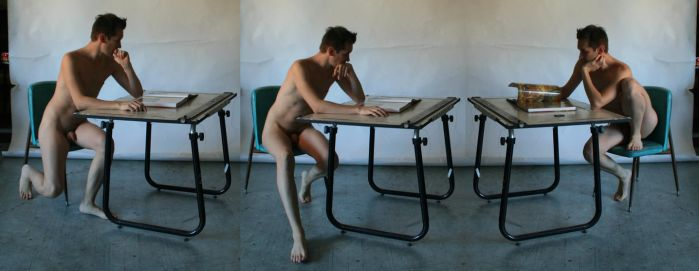 Request - Male Nude Table 2 by TheMaleNudeStock