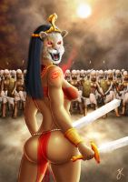 Sekhmet - Lady of Slaughter by JussiKarro