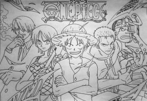 one piece by mlvnsnmgl
