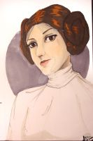 Leia Organa by A-sombrArt