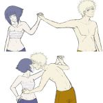 Naruhina - get over here by Dinkelsmoothi
