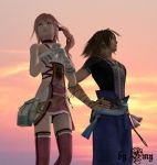 Serah and Noel by Emy-san