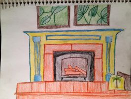 Fireplace - Colored by nishnash4