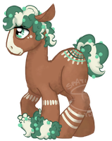 Male Berry Pony - Mintberry Whisk [CLOSED] by SpatialHeather