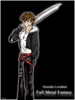Sousuke Leonhart by wurpess2