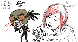 Iscribble Borderlands by Karmenta