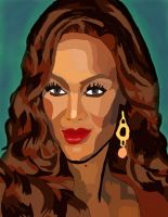 Tyra Banks Pen And Coloer 3 by daylover1313