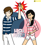High Five by Porn1315