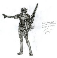 Leon Sorgast: New Armor by Draxen