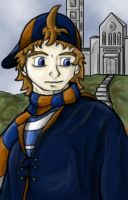 Nath Portrait by Almosee by Hogwarts-Castle