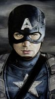 Captain America: Close-Up by GeeFreak