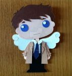 CASTIEL PAPER TOY by IaIaCom