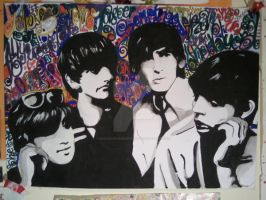 Beatles by realnowherewoman