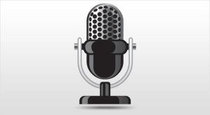 Microphone Vector Icon by gos6