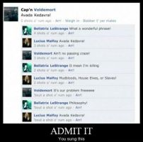 Admit it by Scarecrow113