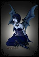 Dark water fairy by o0oO-araceli-Oo0o
